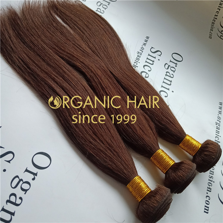 16 inch #3 human hair bundles at a wholesale price A86