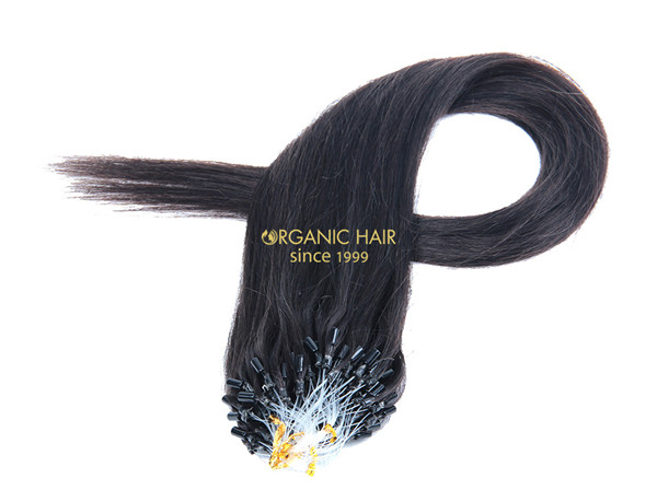 20 hair extensions micro ring hair extensions #1B