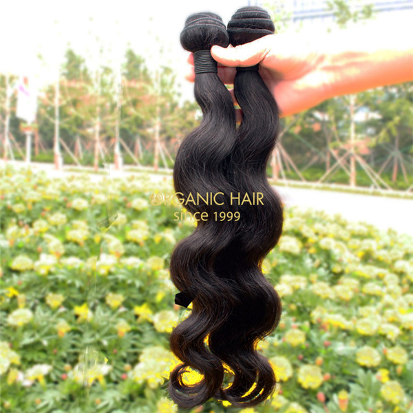 20 inch body wave human hair weave