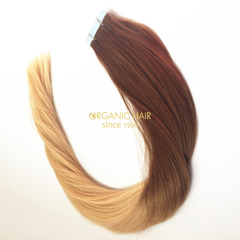 24 Inch Ombre Tape Hair Extensions China Oem 24 Inch Ombre Tape