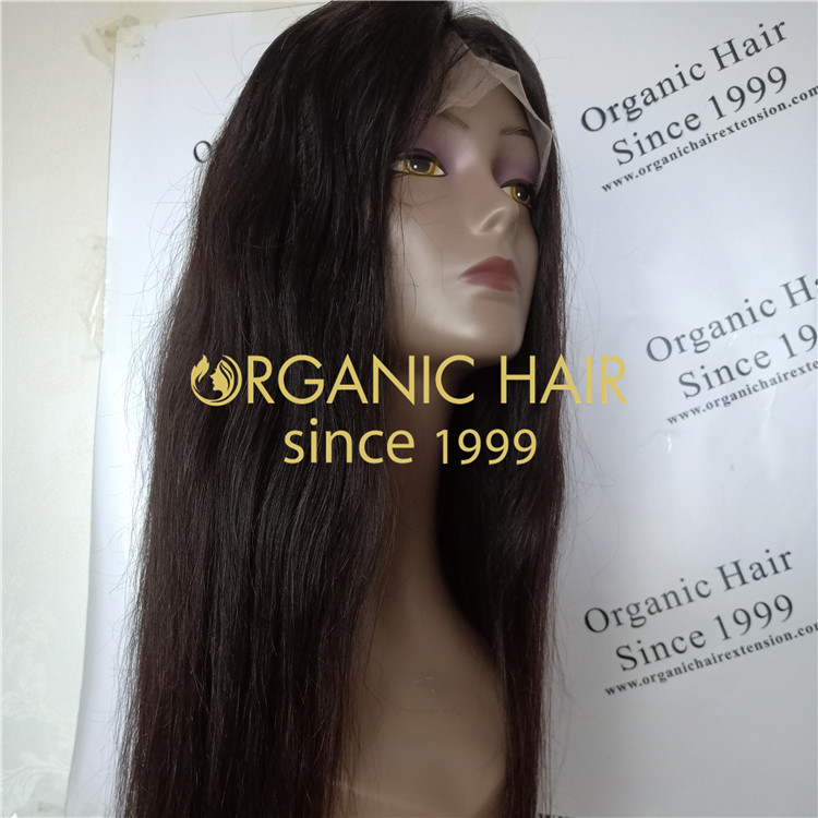 24 inch really human silk base full lace wig A72