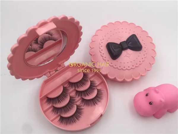 Organic 3D Mink lashes factory directly sale eyelashes