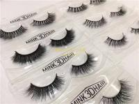 Luxury 3D Mink lashes 100 Real Mink Fur Eyelashes