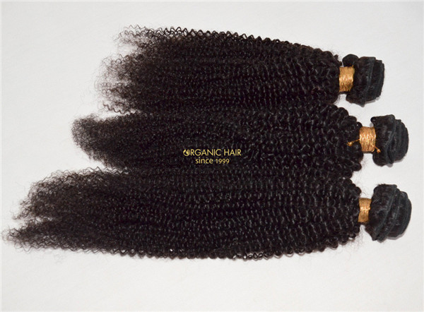 Afro kinky curly real 100 human hair extensions