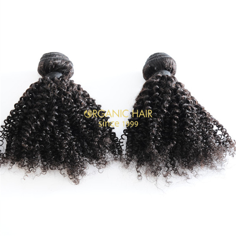Asian hair weft real hair extensions factory