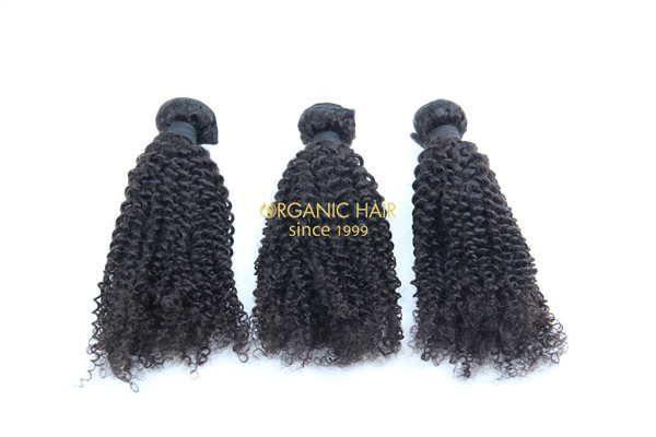Best afro kinky curly human hair extensions wholesale