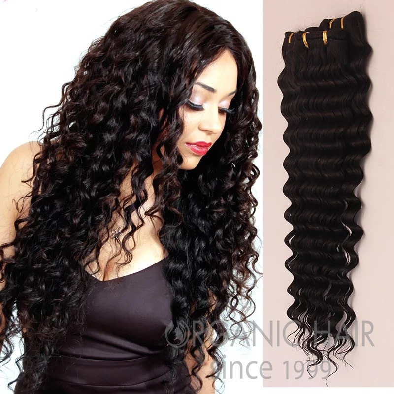 Best curly natural human hair weave