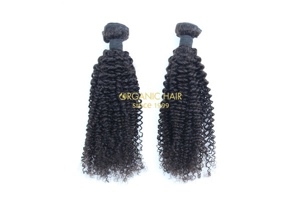 Best kinky curly brazilian human hair extensions