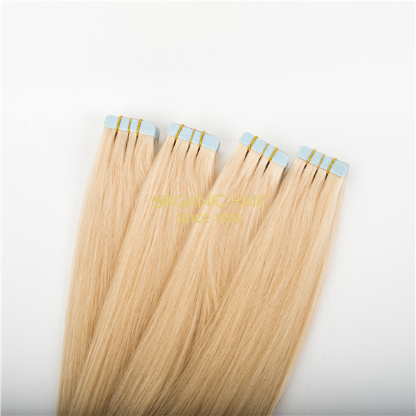 Bohemian hair real hair extensions invisi tape extensions