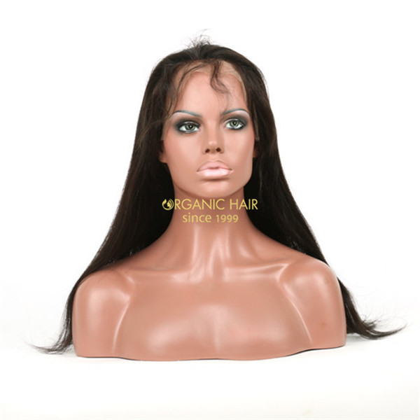 Brazilian 100 human hair lacefront wigs wholesale