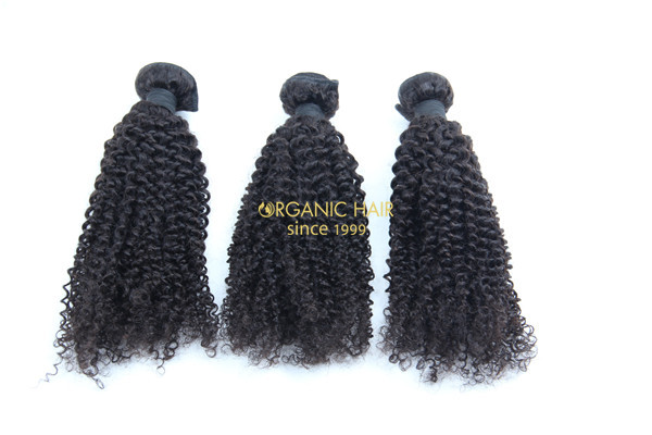 Cheap afro kinky curly human hair extensions online