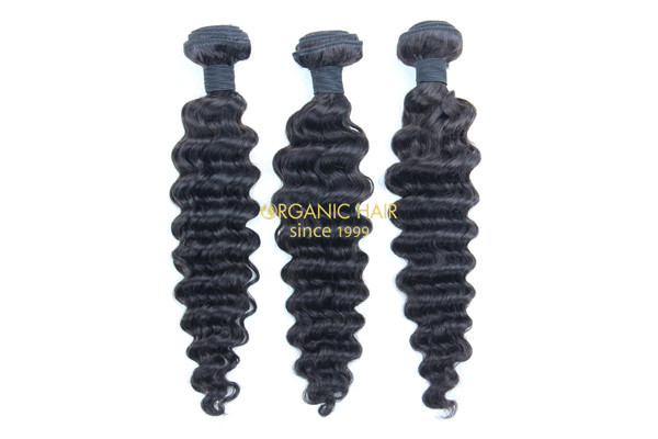 Cheap real curly remy hair extensions