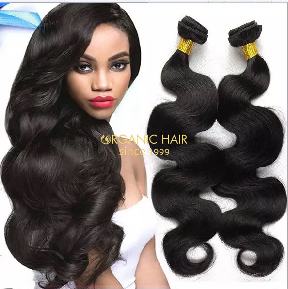 Cheap virgin indian human hair extensions