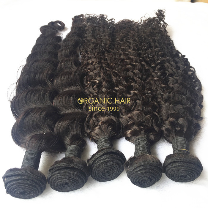 Cheap virgin remy human hair extensions