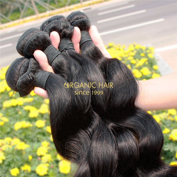 Cheap wavy human hair weave sale