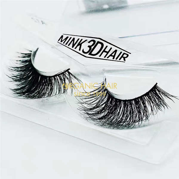 China Natural mink lashes factory 3D Mink lahes wholesale