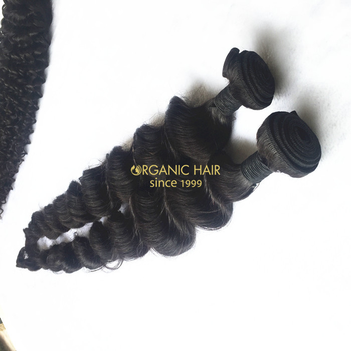 Curly lush hair extensions for short hair black women