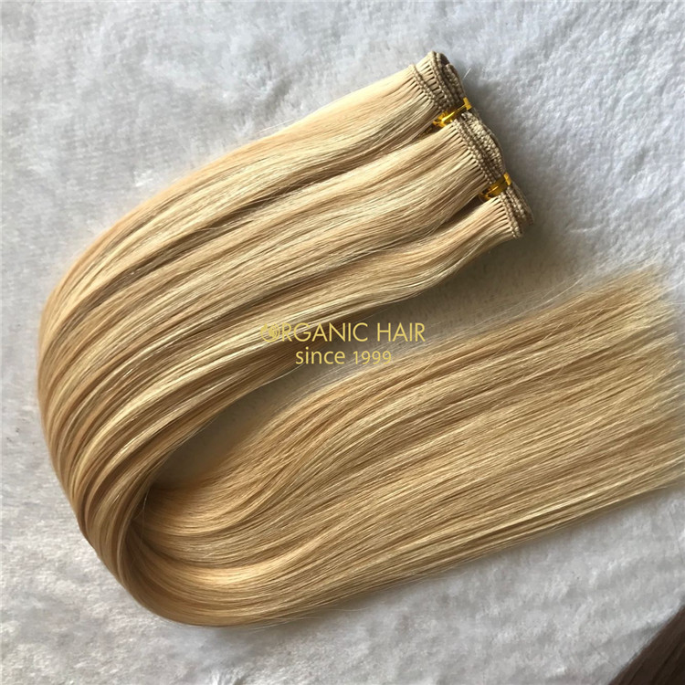 Customized best quality hand tied wefts--4 wefts,12