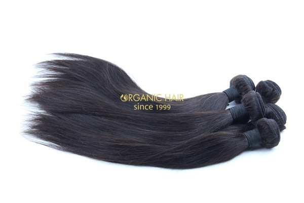 Different types of brazilian premium human hair extensions
