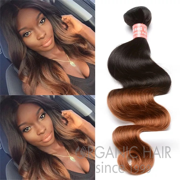 Factory price body wave virgin human hair weave
