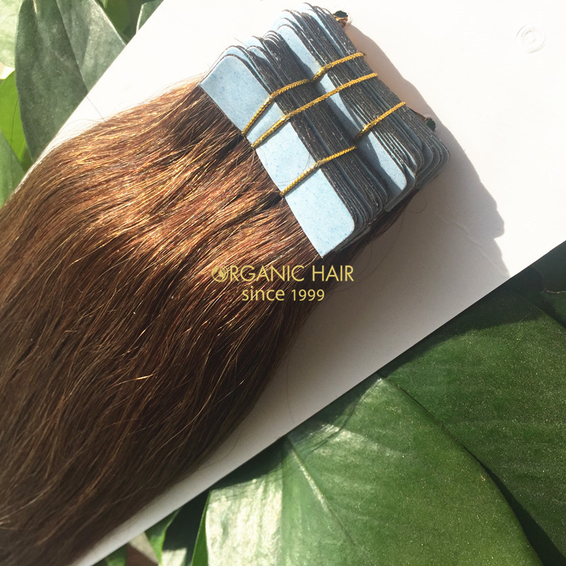 Factory price indian tape hair extensions