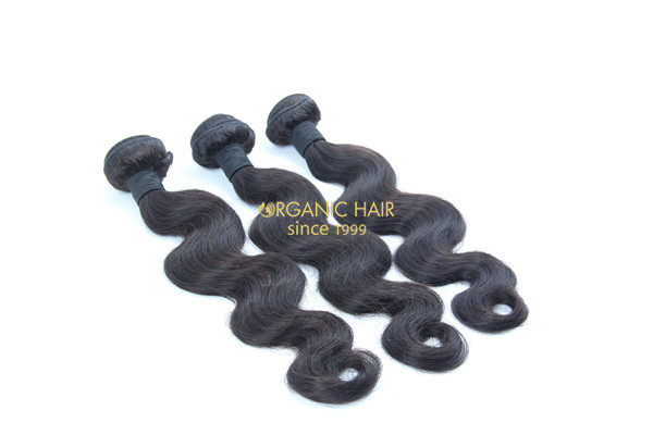 Factory price virgin brazilian human hair extensions
