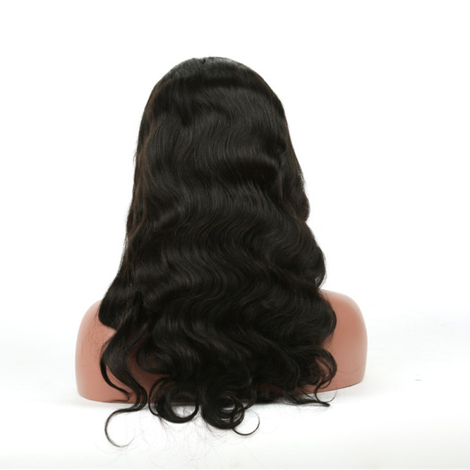 Factory directly sale lace front human hair wigs canada