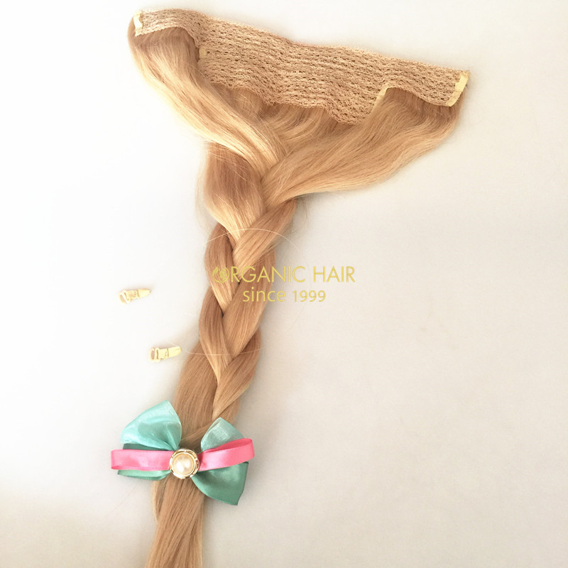 Human hair extensions sale halo hair weave