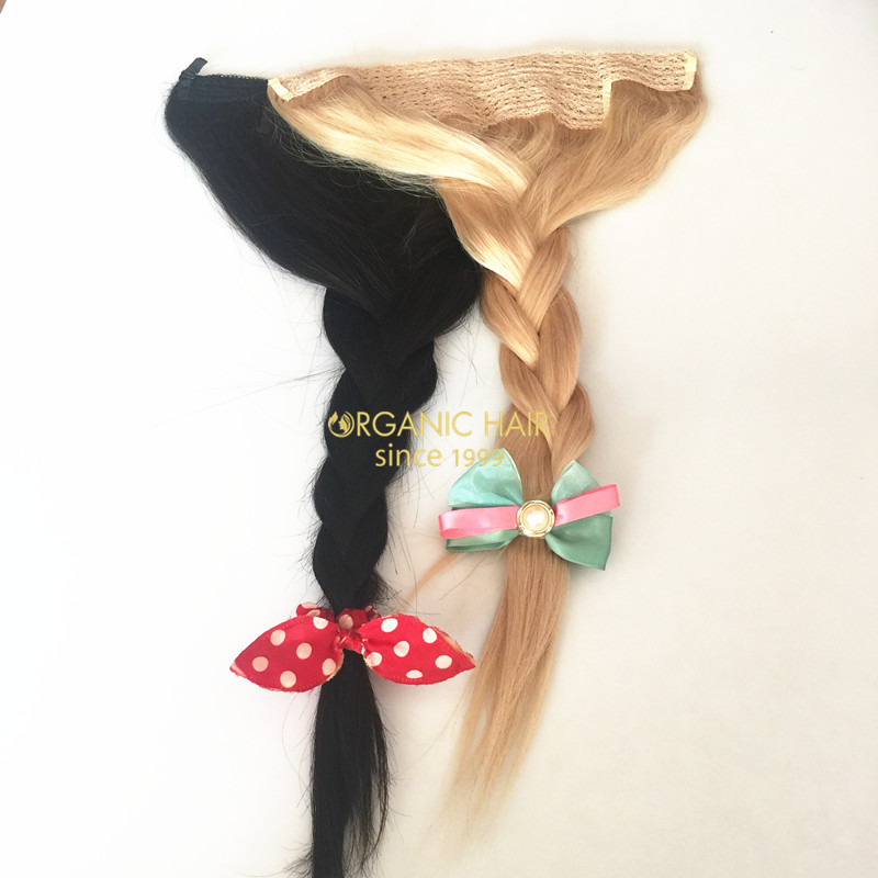 Buy Human Hair Extensions Halo Hairstyle Braids China Oem Buy Human