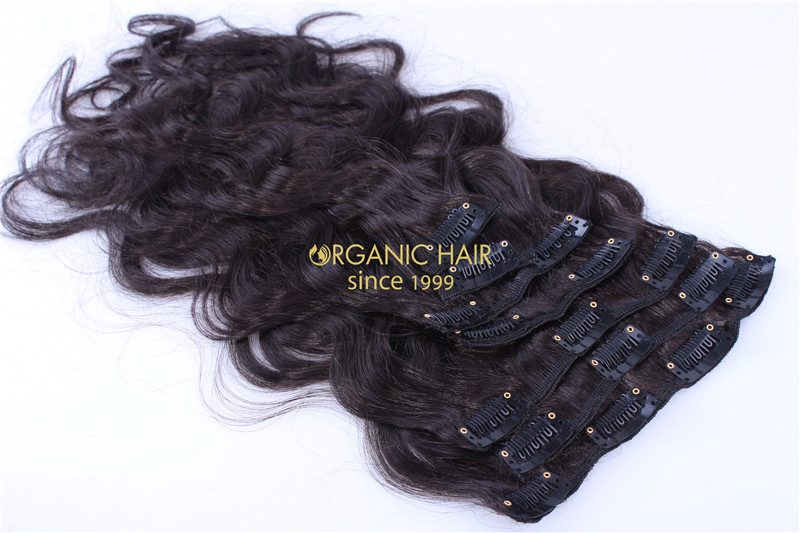 Full Cuticle Hair Remy Hair Extensions Clip In Australia China Oem