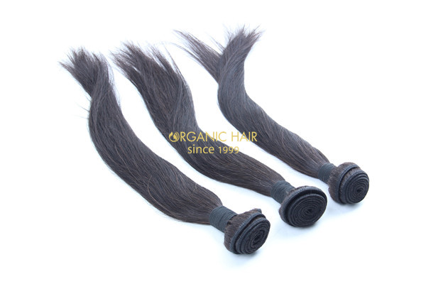 Wholesale good quality brazilian straight hair extensions