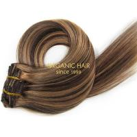Great length soho hair clip in human hair extensions P4/27
