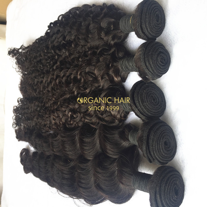 Great lengths brazilian curly hair extensions