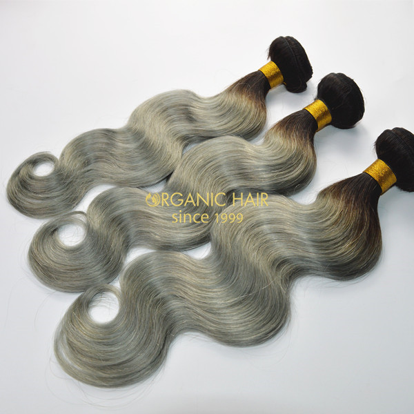 Great lengths colored lush hair extensions