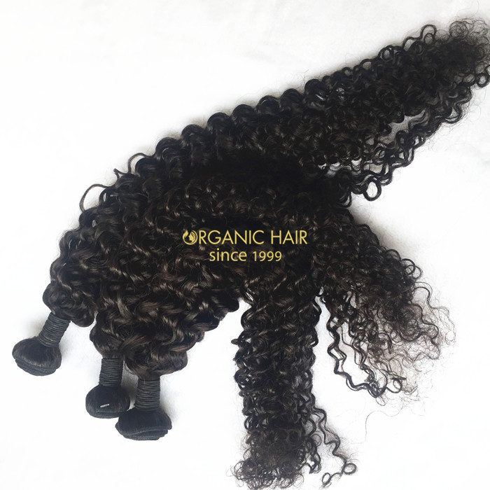 Great lengths milky way curly hair extensions