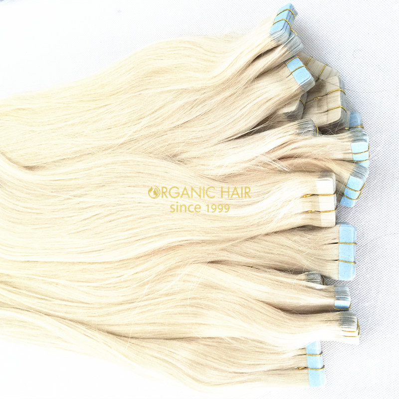 Great lengths tape hair extensions for short hair women