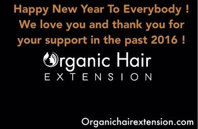 Organic Hair Factory Holiday Notification