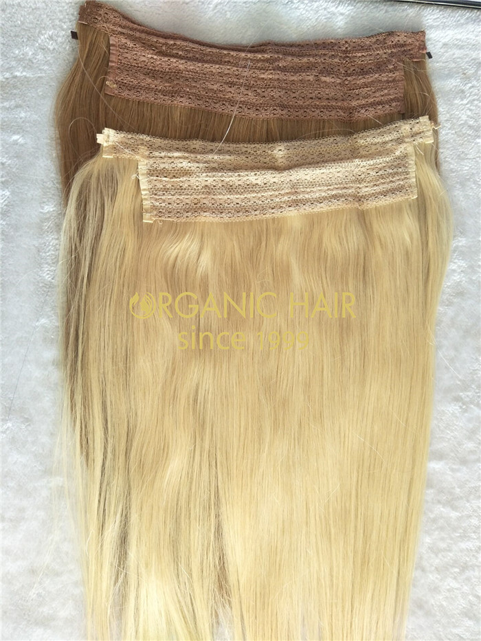 Wholesale cheap Halo hair extensions and good reviews X36