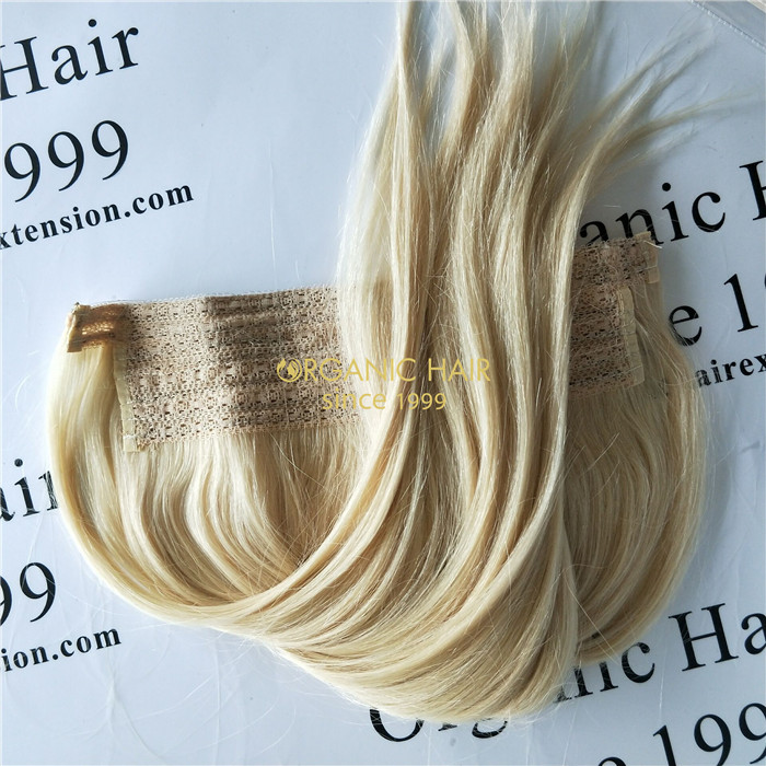 Wholesale cheap halo hair extensions and good reviews X43