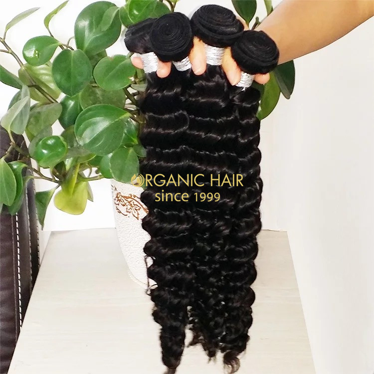 High quality remy human hair weave