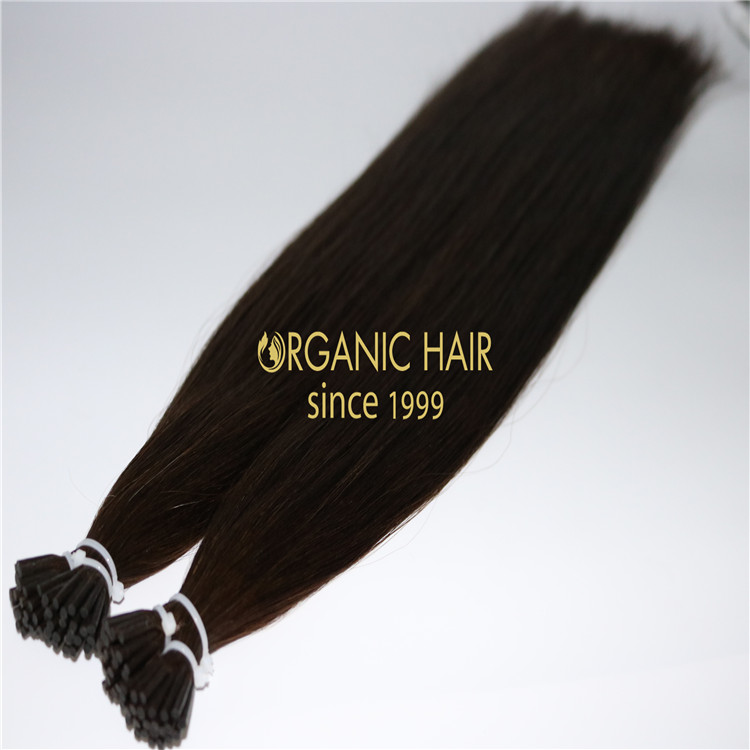 Organic I-Tips hair extension H231