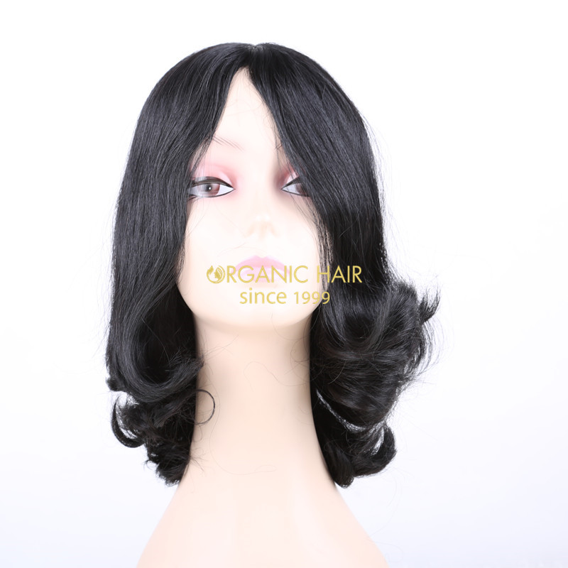 Factory wholesale jewish lady wig jewish hair