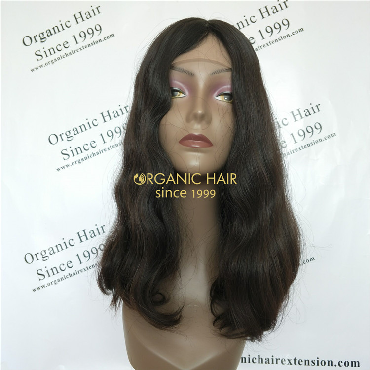 Jewish wig Kosher wigs European hair in China GT39
