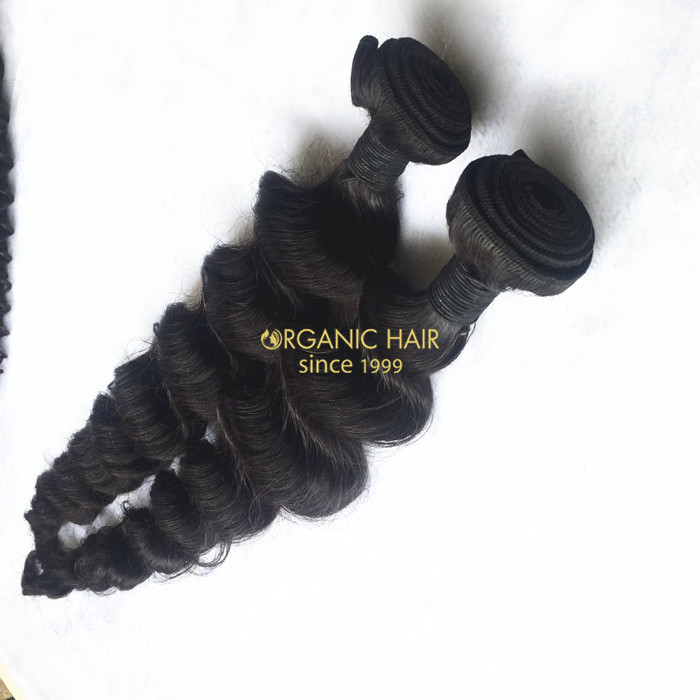 Malaysian remy human hair weave sale