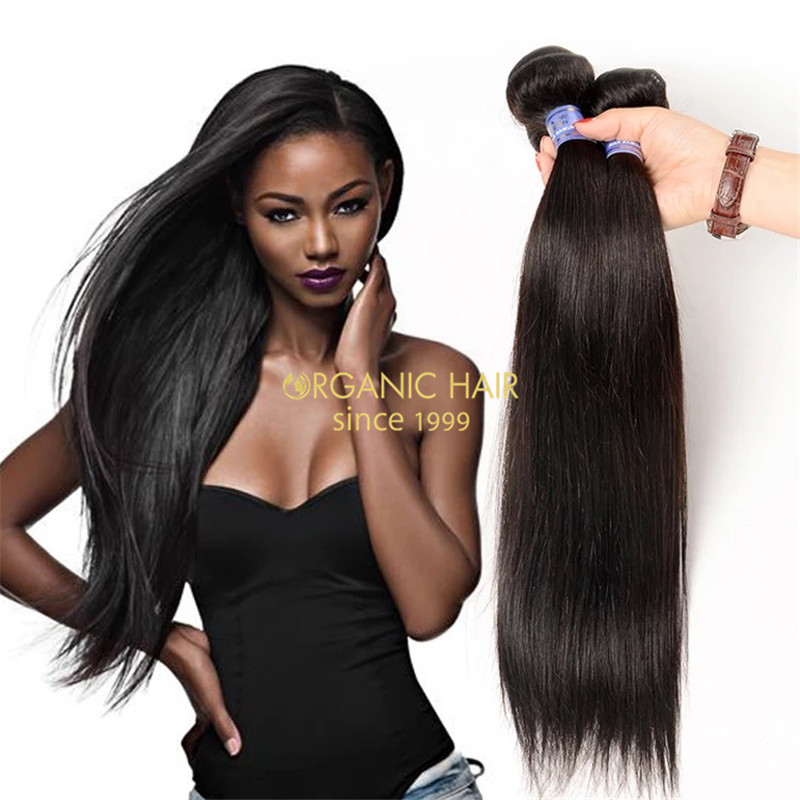 Malaysian straight hair weave for sale