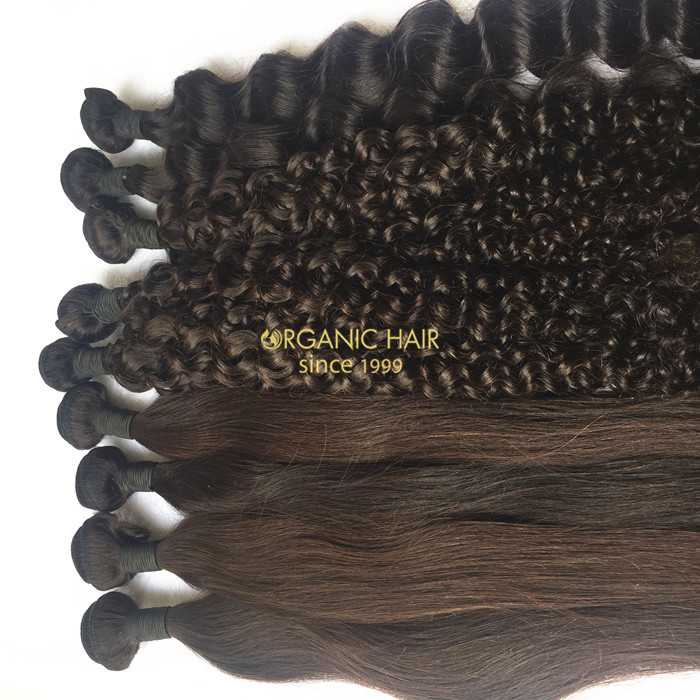 Milky way hair extensions for short hair women