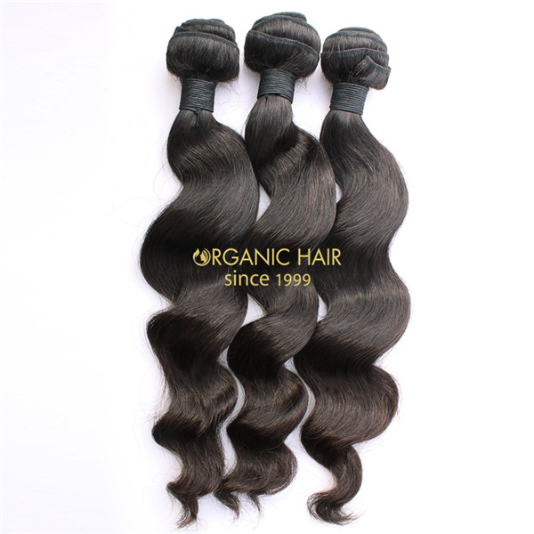 Mink virgin brazilian human hair weave