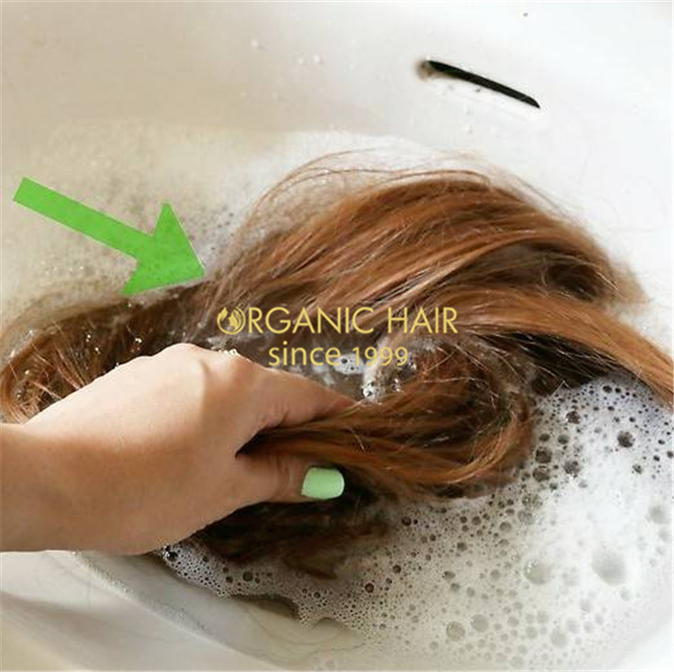 How To Wash Weave Hair Extensions Before Installing? C29