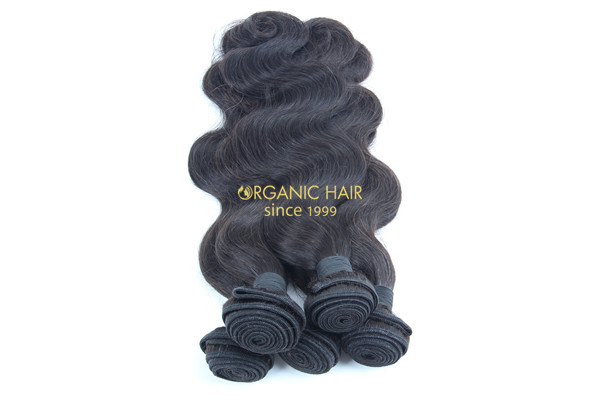 Natural braiding hair extensions