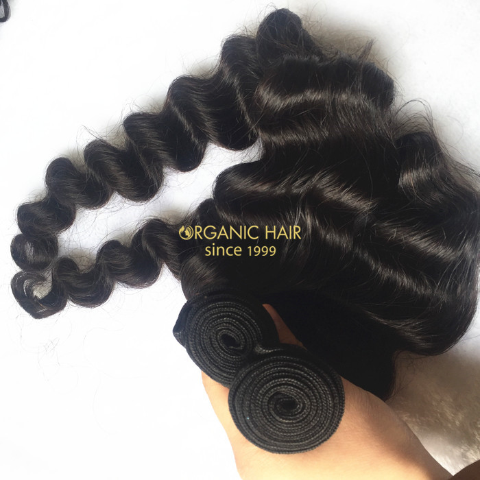 New arrival loose wave virgin human hair weave
